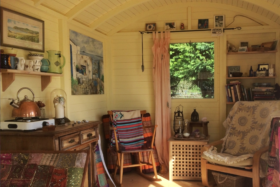 The Shepherds Hut Reiki space