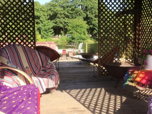Holistic Relaxation in the garden